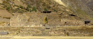 Ruins of Chavin temple at Chavin de Huantar, Peru (Image credit: Wikipedia)