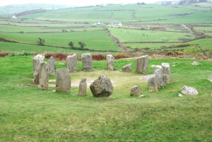 Drombeg Stone circle, Gandore, Ireland (Image credit: Michael Fox Bourne Valley Tours).
