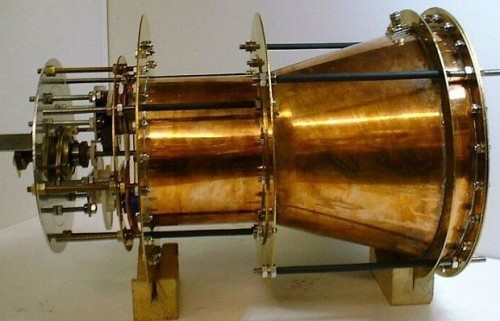 The EM Drive (Image credit: The Telegraph).
