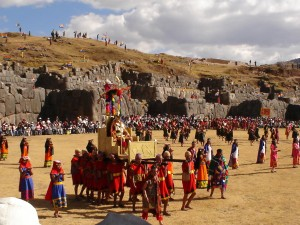 Dancers at the Into Raymi festival in Peru (Image credit: Wikipedia).