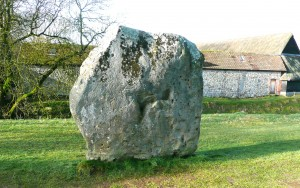 Large megalith forming part of the Avesbury stone circle, Wiltshire, England. (Image credit Leonard Farra).